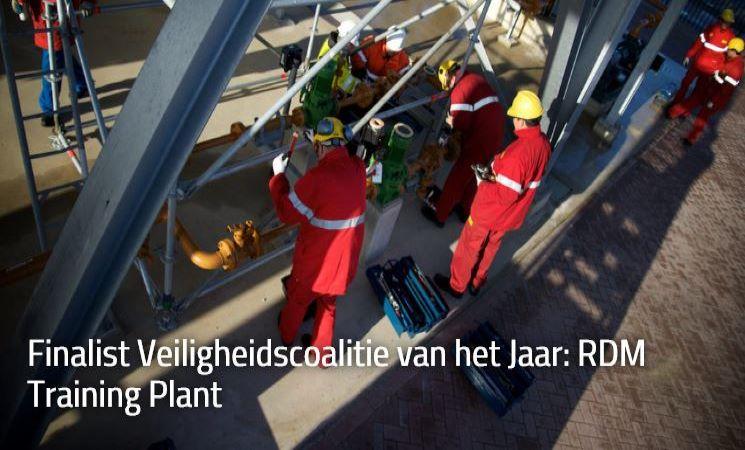 Finalist Veiligheidscoalitie van het jaar: RDM Training Plant